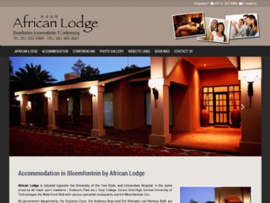 African Lodge<br><a href='http://www.africanlodgesa.co.za' target='_blank'><small>www.africanlodgesa.co.za</small></a>