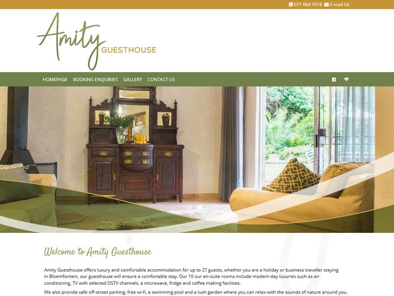 Amity Guesthouse<br><a href='http://www.amityguesthouse.co.za' target='_blank'><small>amityguesthouse.co.za</small></a>