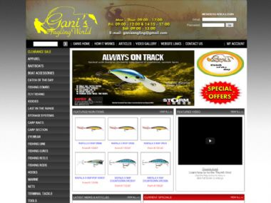 Gani's Angling World<br><a href='http://www.ganisangling.co.za' target='_blank'><small>www.ganisangling.co.za</small></a>