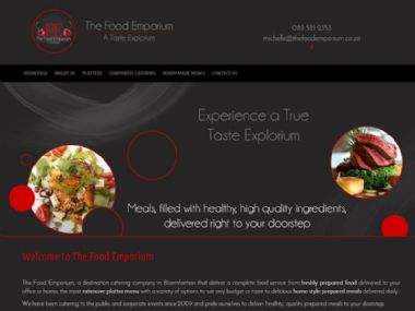 The Food Emporium<br><a href='http://www.thefoodemporium.co.za' target='_blank'><small>www.thefoodemporium.co.za</small></a>