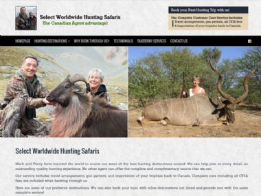 Select Worldwide Hunting Safaris<br><a href='http://www.selectworldwidehuntingsafaris.com' target='_blank'><small>www.selectworldwidehuntingsafaris.com</small></a>